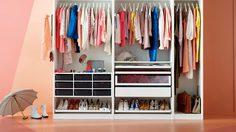 วิธีจัดตู้เสื้อผ้าให้เป็นระเบียบ