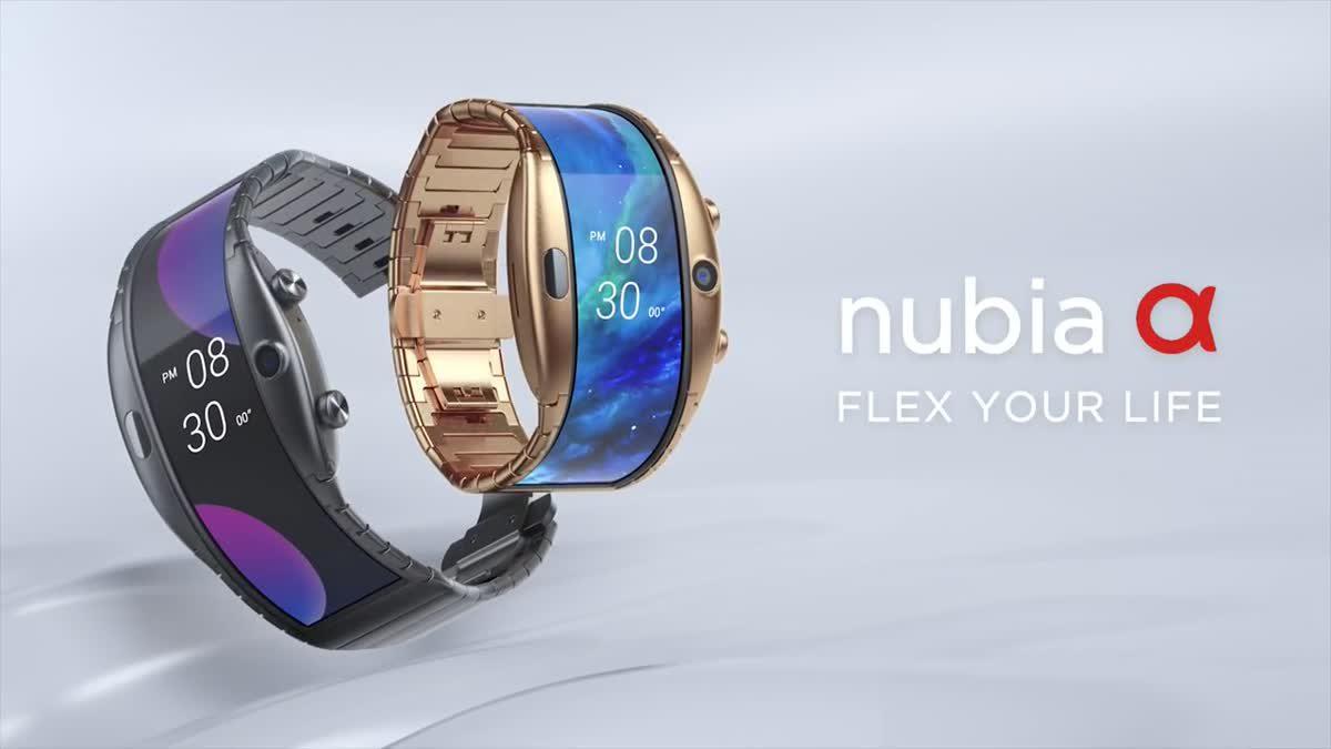 เผยโฉม nubia Alpha สมาร์ทวอทช์ที่สามารถกางออกมาเป็นสมาร์ทโฟนได้