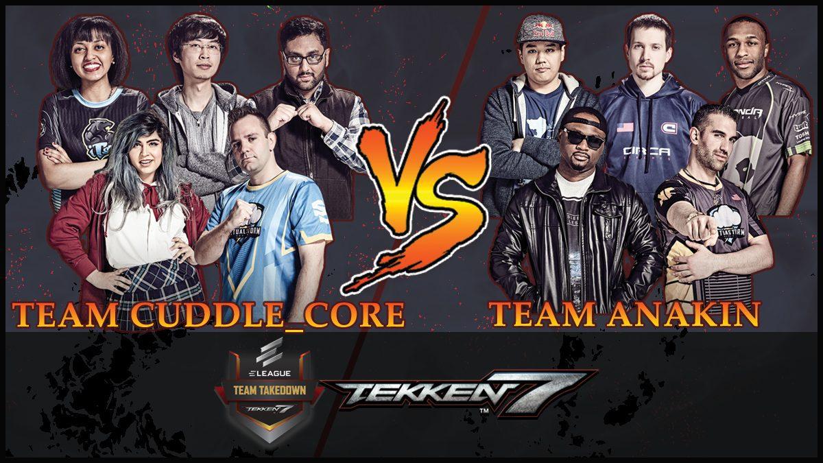 การแข่งขัน Tekken Team Takedown | ระหว่าง ทีม CUDDLE_CORE vs ทีม ANAKIN