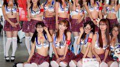 รวมภาพสาวๆ พริตตี้ Cosplay สวยๆ จากงาน Tokyo Game Show 2013