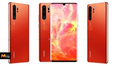 เผยภาพ Huawei P30 Pro มาพร้อมสีแดงใหม่ก่อนเปิดตัว