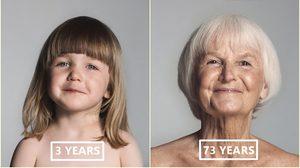 ชีวิตภายใน 60 วินาที! สะท้อนวิวัฒนาการความงาม ของ ผู้หญิง ตั้งแต่เกิดถึงอายุ 100 ปี