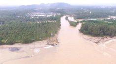 สถานการณ์น้ำท่วม อ.บางสะพาน เมืองชุมพร เมืองเพชรฯ เริ่มคลี่คลายแล้ว