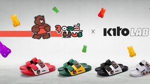 """เมื่อหมีบุกโรงงานรองเท้ากีโต้ เกิดโปรเจกต์ """"JollyBears x KitoLAB"""" ที่คาดไม่ถึง พร้อมสะดุ้งทุกวงการ"""