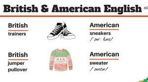 มาดูความแตกต่างของคำศัพท์ภาษาอังกฤษ ระหว่าง British vs American
