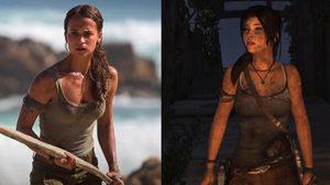แฟนเกมโวย ชาวเน็ตว่าหุ่นนางเอก Tomb Raider ไม่เซ็กซี่พอ