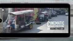 อินหนักมาก! ถนนเจริญกรุง ถ่ายภาพแนว Cinematic ด้วย กล้องโหมดโปร Huawei Mate 20