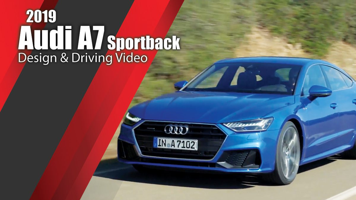 The new Audi A7 Sportback - Design & Driving Video