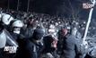 ตำรวจกรีซปะทะผู้ลี้ภัย
