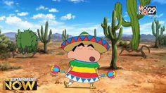 """หน่วยพิทักษ์เม็กซิโกสู้ตาย! """"ชินจัง"""" ไปผจญภัยต่างแดนกับสงครามกระบองเพชรยักษ์"""