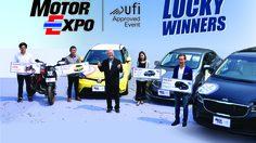 """MOTOR EXPO"""" เผยโฉมผู้โชคดีคว้ารางวัลใหญ่ มูลค่ารวมกว่า 3 ล้านบาท !"""