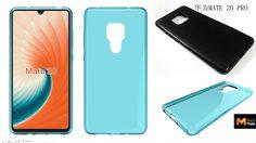 หลุดภาพเคส Huawei Mate 20 และ Mate 20 Pro ตอกย้ำดีไซน์กล้องหลังสี่เหลี่ยม