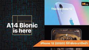 หลุดคอนเซปต์ iPhone 12 (2020) หน้าจอไร้รอยบาก, กล้องหลัง 1 ตัว
