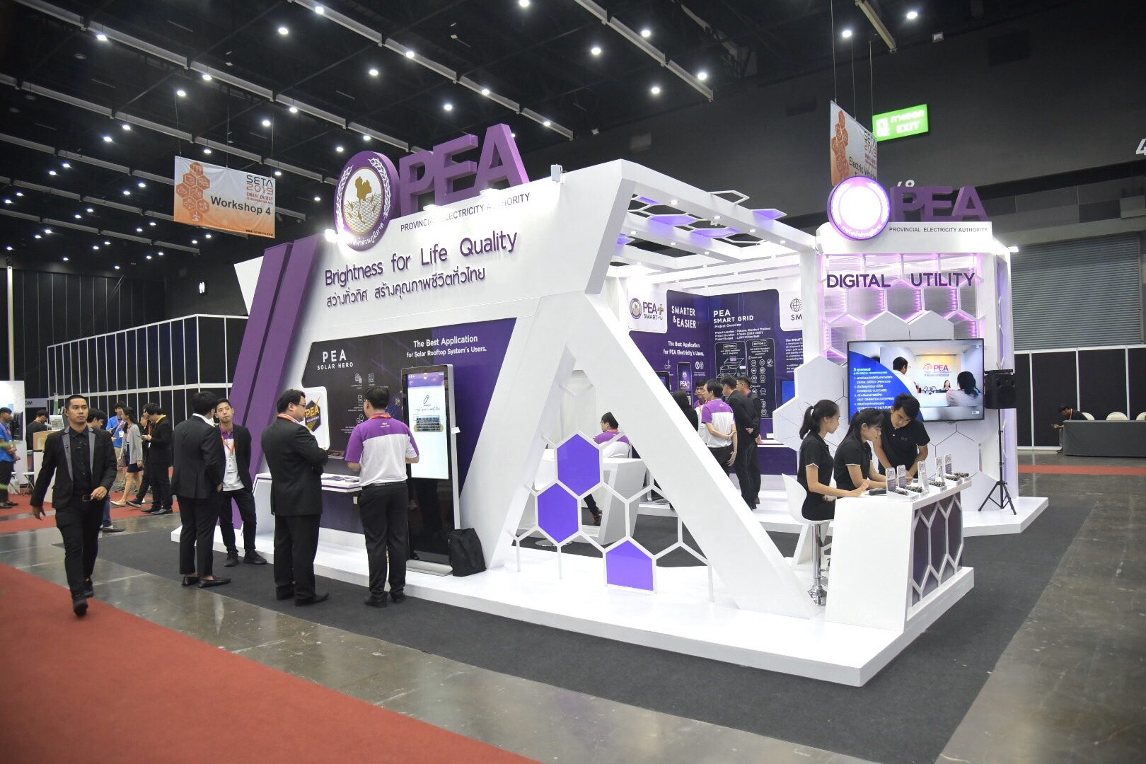 PEA ร่วมเปิดงานประชุมวิชาการและนิทรรศการนานาชาติ (SETA 2019)
