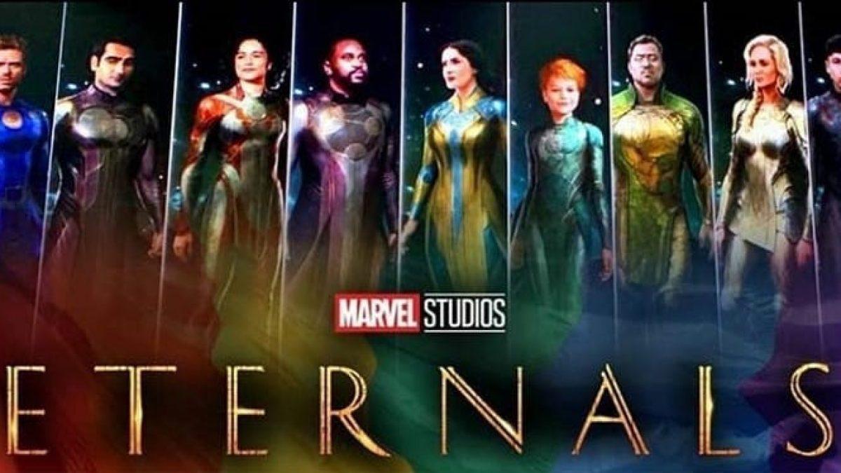 ภาพจากกองถ่าย Eternals และ Black Widow