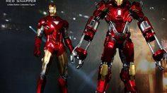 "Hot toys ปล่อยภาพโปรโมทโมเดล Iron man XXXV "" RED SNAPPER ""รับกระแส Iron man3"