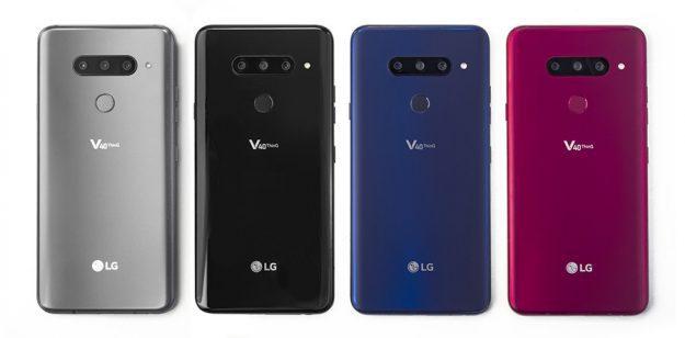 เปิดตัว LG V40 ThinQ สมาร์ทโฟนกล้อง 3 ตัว สเปคแรง ระบบเสียง 32-bit QuadDAC