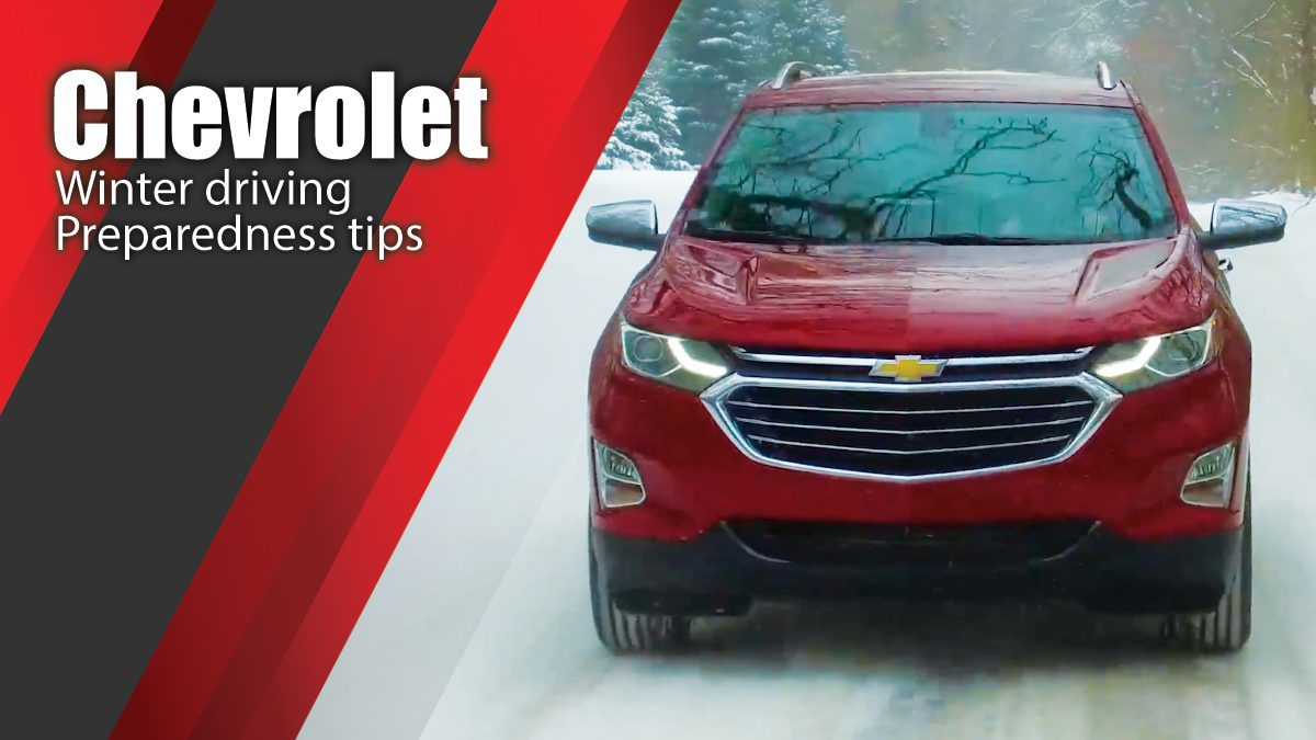 Chevrolet winter driving and preparedness tips