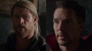 Doctor Strange เตือน Thor ถึงโชคชะตาอันโหดร้าย ในตัวอย่างล่าสุด Thor: Ragnarok