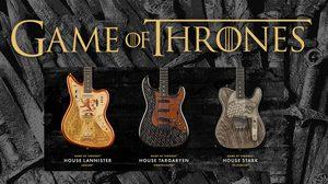 Fender ปล่อยกีต้าร์คอลเลคชั่นพิเศษเพื่อสาวกซีรีส์ Game of Thrones