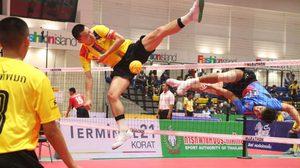 172 ทีมทั่วไทยแห่ร่วมศึกตะกร้อชิงชนะเลิศแห่งประเทศไทย ครั้งที่ 32