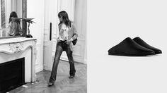 แฟชั่นรองเท้า Unisex จากเซลีน BABOUCHE สะท้อนถึงความเป็นร็อคแอนด์โรล