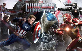 Captain America:Civil War กัปตันอเมริกา: ศึกฮีโร่ระห่ำโลก