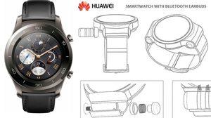 Huawei เผยสิทธิบัตร Huawei Watch ใหม่!! สามารถเก็บหูฟังไร้สายได้