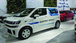 Suzuki Maruti Wagon R EV ตัวต้นแบบ เริ่มวิ่งทดสอบจริงบนถนนแล้ว
