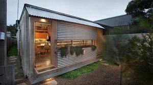 งบประมาณน่าคบหา! Tamarama บ้านสังกะสีขนาดเล็ก แบบบ้านชั้นเดียว ต้นทุนต่ำ