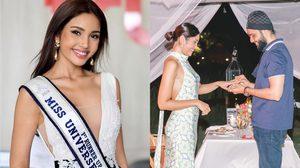 ปวีนา ซิงห์ รอง1มิสยูนิเวิร์สไทยแลนด์ 2020 แขวนส้นสูง หลังเซย์เยสขอแต่งงาน