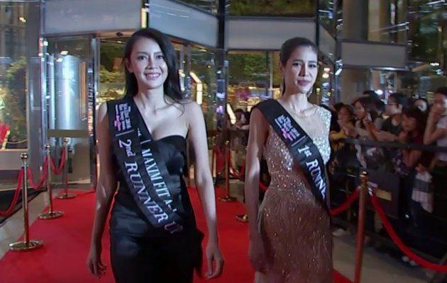 สาวๆ Maxim เดินพรมแดง ในงานประกาศผลรางวัล MThai Top Talk-About 2017
