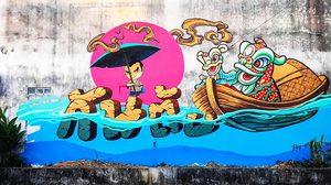 """ไปเที่ยวงาน """"82 ปีเมืองกันตัง ภูมิหลังประวัติศาสตร์"""" ตามหา Street Art ถ่ายรูปแบบชิคๆ"""