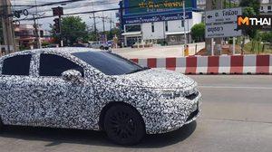 2020 Honda City เริ่มทดสอบการขับขี่ในไทย เผยดีไซน์ปรับใหม่ยกคัน