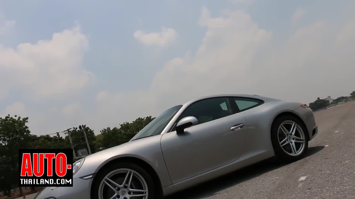 Testdrive The New Porsche 911 Carrera 2016