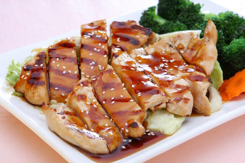 Thai and Chinese food Teriyaki Chicken