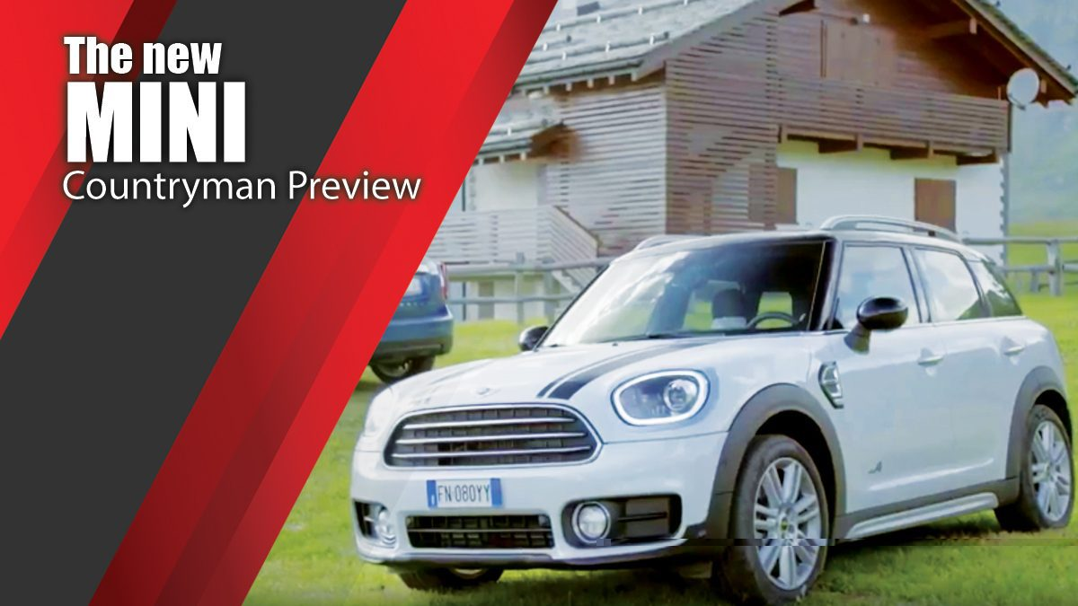 The new MINI Countryman Preview