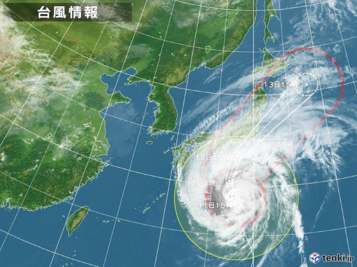 สั่งคนไทยในญี่ปุ่น ตามข่าวใกล้ชิด รับมือ ไต้ฝุ่นฮากิบิส ถล่ม !!
