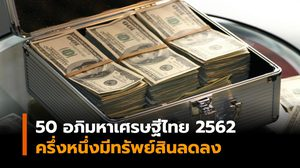 ฟอร์บส์ จัดอันดับ 50 มหาเศรษฐีไทย 62 พบครึ่งหนึ่งมีทรัพย์สินลดลง 4 อันดับแรกยังรั้งตำแหน่งเดิม