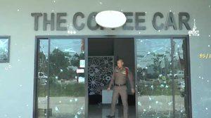 อุกอาจ! คนรายบุกปาระเบิด-ยิงถล่มร้านคาร์แคร์ที่ชลบุรี โชคดีไร้เจ็บ