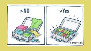10 เคล็ดลับดีๆ ในการจัดกระเป๋าเดินทาง