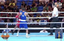 สามกำปั้นหนุ่มไทยพาเหรดคว้าชัยทะลุตัดเชือกซีเกมส์