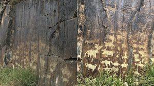 """จีนพบภาพเขียน """"บนผาในชิงไห่""""  เก่าแก่ 2,600 ปี"""