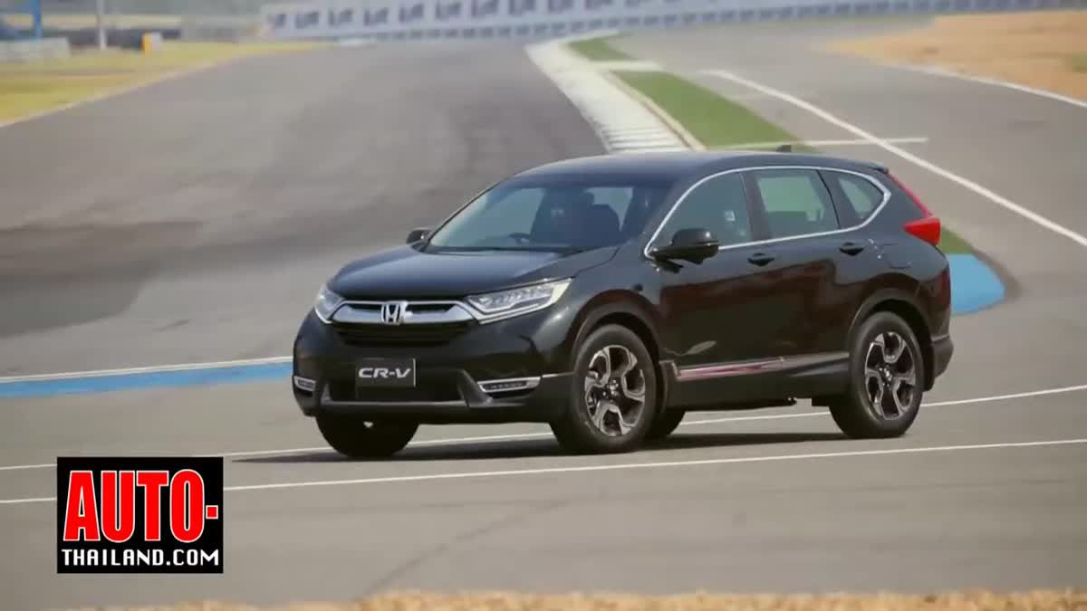ทดลองขับ Honda CR-V 2017 ใหม่ กับเครื่องยนต์ 1.6 i-DTEC DIESEL TURBO