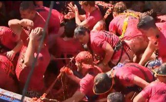 เทศกาลปามะเขือเทศในสเปน