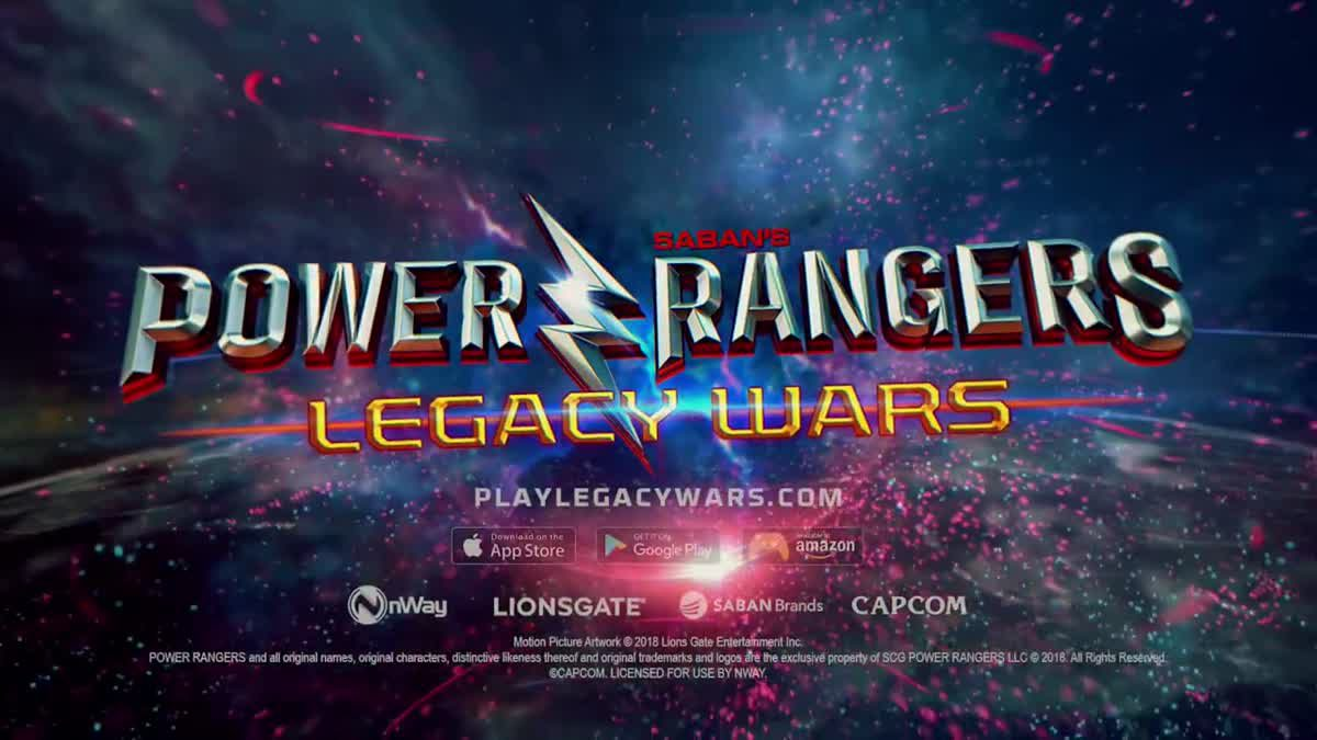 [ตัวอย่างเกม] Power Rangers Legacy Wars X Street Fighter V