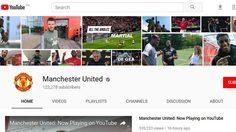 รอมา13ปี!! แมนเชสเตอร์ ยูไนเต็ด เพิ่งเปิดตัวอย่างเป็นทางการใน Youtube