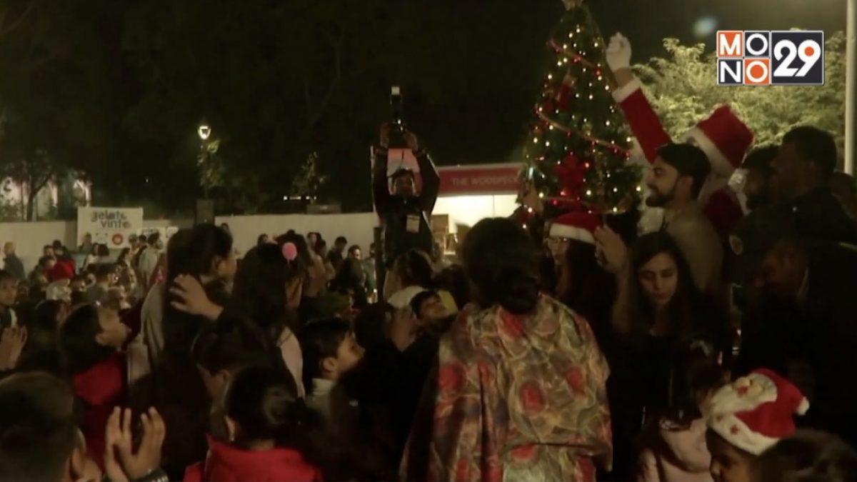 อินเดียเตรียมฉลองเทศกาลคริสต์มาส