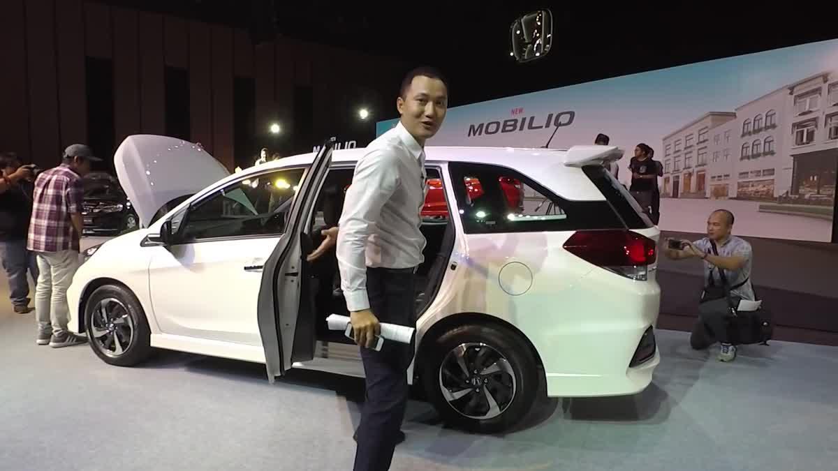 [Live] เปิดตัว Honda Mobilio MY17