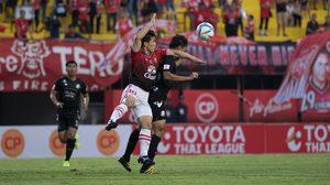 ผลบอล มังกรไฟกำชัย! อบรานเต้ โขกชัยช่วย บีอีซี-เทโร เฉือน ศรีสะเกษ 1-0
